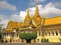 Silver Pagoda - Royal Palace - Phnom Penh Stock Image