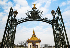 Silver Pagoda,Royal Palace,Phnom Penh,Cambodia Royalty Free Stock Image