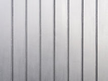 Silver painted wooden wall Stock Image