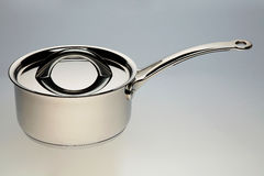 Silver pan Stock Images