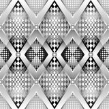 Silver pattern Stock Photos