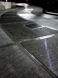 Silver Pavement Stock Images