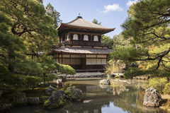 Silver Pavilion at Ginkakuji Royalty Free Stock Images