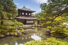 Silver Pavilion, Kyoto, Japan Stock Photography