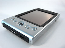 Silver PDA Royalty Free Stock Image