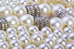 Silver pearl Royalty Free Stock Photography