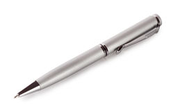 Silver pen Stock Images