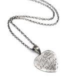 Silver pendant Stock Image