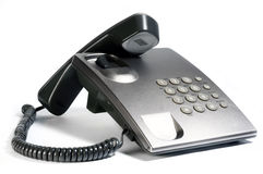 Silver phone Stock Images