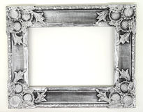 silver photo frame Stock Photos