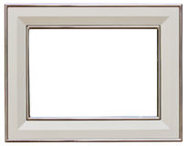 Silver picture frame Stock Images