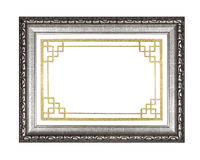 Silver picture frame Royalty Free Stock Photo