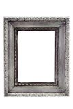 Silver picture frame Royalty Free Stock Image