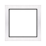 Silver Picture Frame Royalty Free Stock Photos
