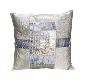 Silver pillow isolated Royalty Free Stock Image