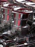 Silver Pipes Stock Photos