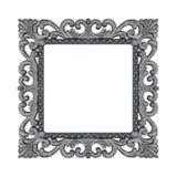 Silver pläterat trä Royaltyfri Foto