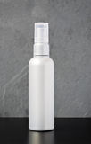 Silver Plastic Bottle Royalty Free Stock Photo