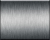 Silver Plate. Silver texture and background for print or web usage Royalty Free Stock Photo