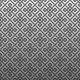 Silver/platinum metallic background with geometric pattern Stock Images