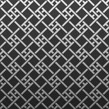 Silver/platinum metallic background with geometric pattern Royalty Free Stock Photo