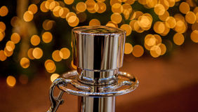 Silver pole Royalty Free Stock Photography