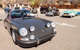 Silver 1973 Porsche 911 Royalty Free Stock Photography