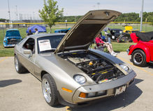 1985 Silver Porsche 928-S Royalty Free Stock Photography