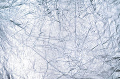 Silver reflector texture Stock Images