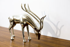 Silver reindeer Stock Photos