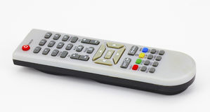 Silver remote control Stock Images