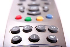 Silver remote controller Royalty Free Stock Photography