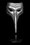 Silver Renaissance Carnival Mask Royalty Free Stock Photos