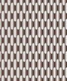Silver rhombus background Stock Image