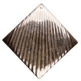 Silver rhombus Stock Image