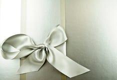 Silver ribbon Stock Photos