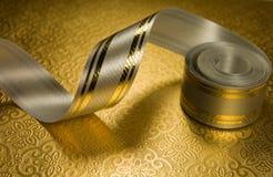 Silver ribbon Royalty Free Stock Photos