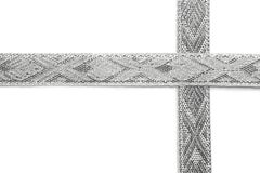 Silver ribbon Royalty Free Stock Photo