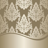 Silver rich ornamental Background Stock Images