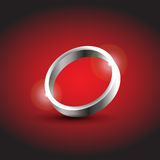 Silver ring Royalty Free Stock Photo