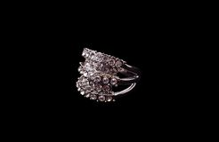 Silver ring Royalty Free Stock Images
