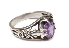 Silver ring Stock Images
