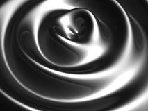 Silver ripple wave background Stock Photo