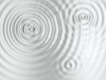 Silver rippled surface Royalty Free Stock Photos