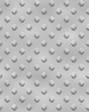 Silver Rivets sheet metal Royalty Free Stock Photos