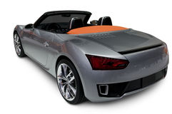 Silver Roadster Royalty Free Stock Image