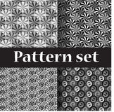 Silver roll pattern Royalty Free Stock Photos