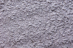 Silver rough plaster on wall Stock Image