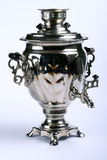 Silver Russian Samovar Stock Image