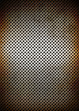 Silver rusty metal grid background texture Stock Images